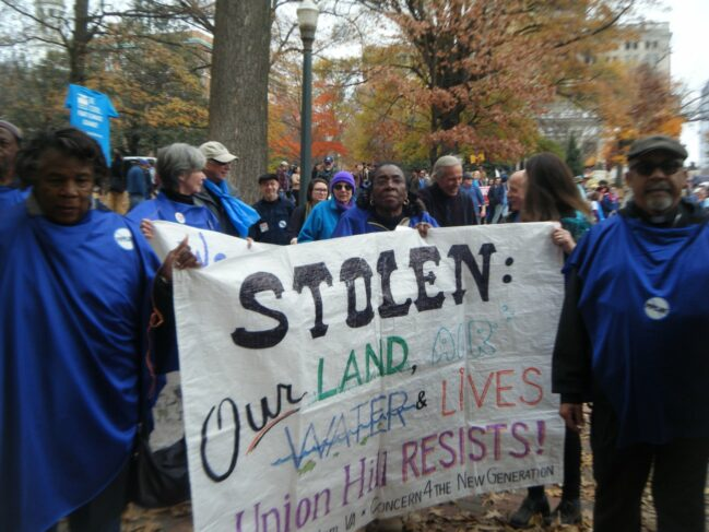 Atlantic Coast Pipeline Rally, December 2020 (Photo: Friends of Nelson County, VA)