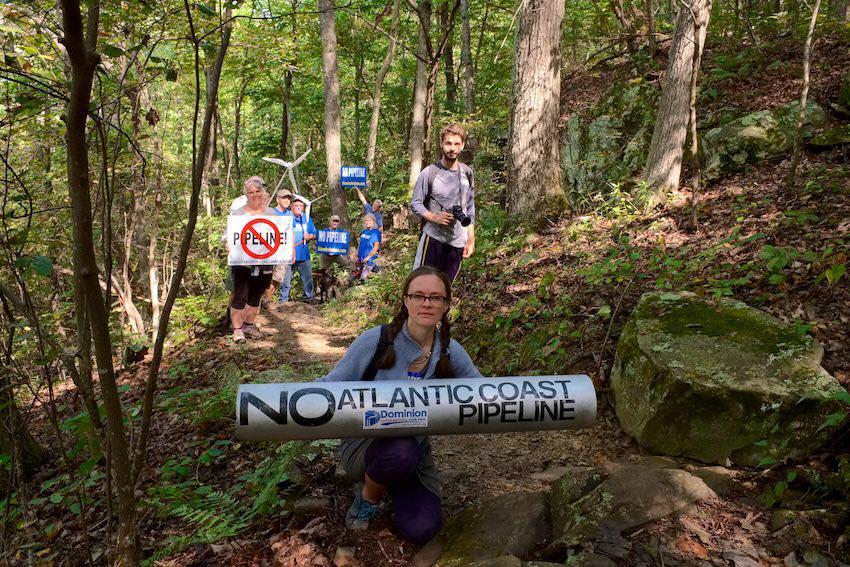 Appalachian Trail, October 2018 (Photo: Friends of Nelson County, VA)