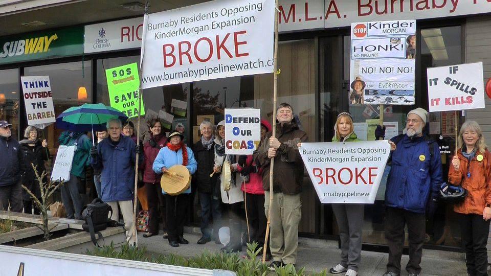 BROKE-Burnaby Residents Opposing Kinder Morgan Expansion
