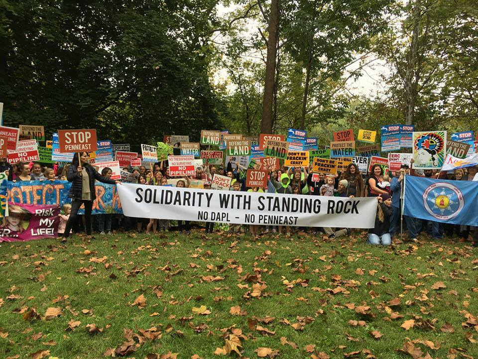 (Photo: Stop the PennEast Pipeline, October 2016)