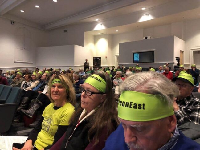 (Photo: Stop the PennEast Pipeline, December 2019)