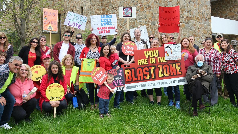 (Photo: West Whiteland Residents for Pipeline Safety, January 2021)